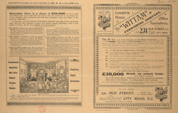 Advert for the Wittam Furnishing Company